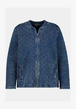 Summer jacket - blue denim