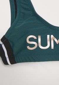 Brunotti - DAARANI GIRLS SET - Bikinit - fuel green - 3