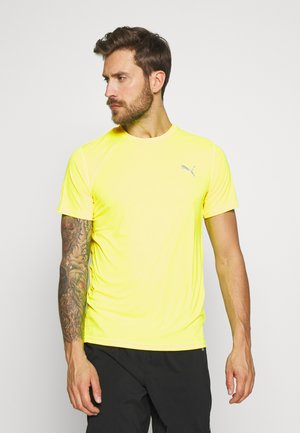LAST LAP TEE - T-shirts basic - yellow alert