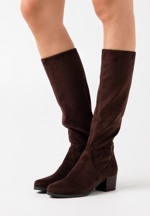 Boots - dark brown