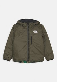 The North Face - REVERSIBLE PERRITO UNISEX - Vinterjakker - evergreen mountain - 2