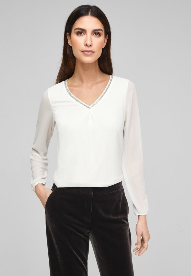 Longsleeve - soft white