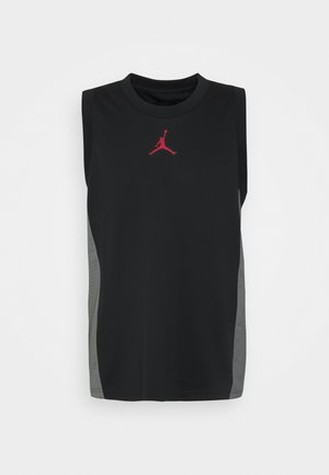 AIR - Top - black/smoke grey/gym red