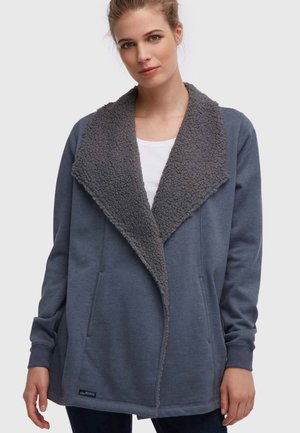 Short coat - dark grey blue