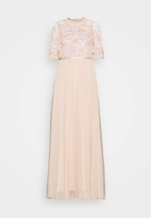 SEQUIN RIBBON DRESS - Ballkleid - pink encore