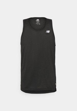 IMPACT RUN SINGLET - Sports shirt - black heather