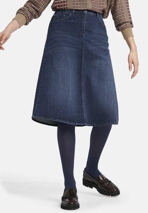 ROCK - Denim skirt - blue denim
