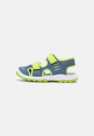 Chodecké sandály - blau/grün