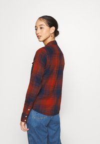 Lee - REGULAR WESTERN SHIRT - Button-down blouse - red ochre - 2