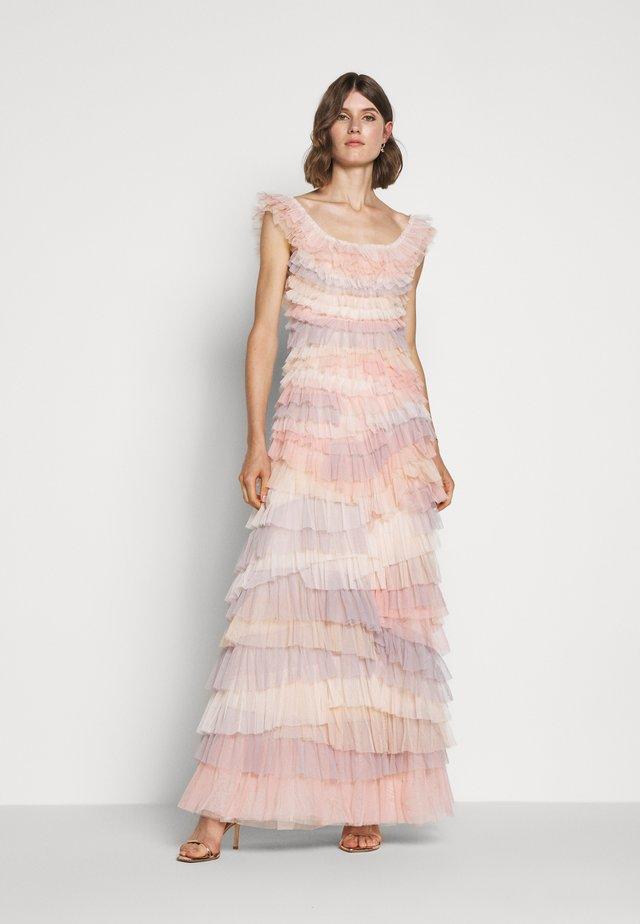 PETRA RUFFLE GOWN - Společenské šaty - desert rainbow