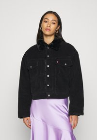 Levi's® - NEW HERITAGE TRUCKR - Winter jacket - black - 0