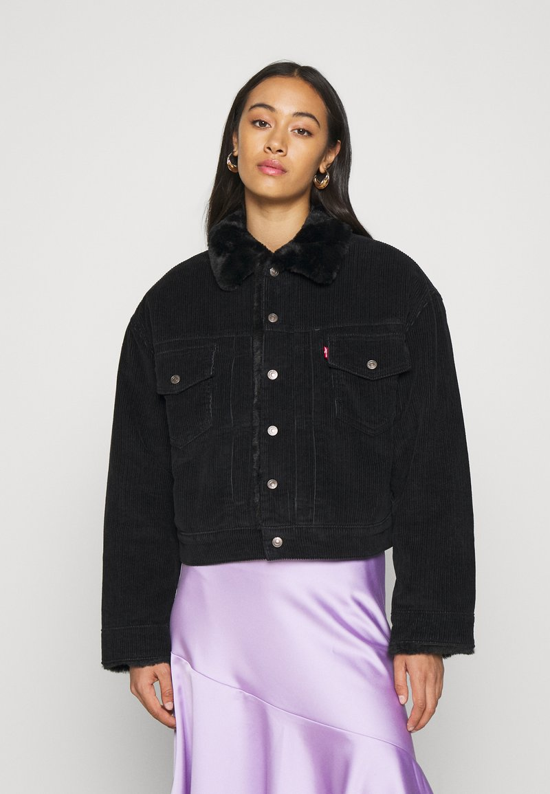 Levi's® - NEW HERITAGE TRUCKR - Winter jacket - black