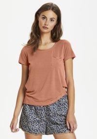Soaked in Luxury - COLUMBINE TEE - Basic T-shirt - carnelian - 0