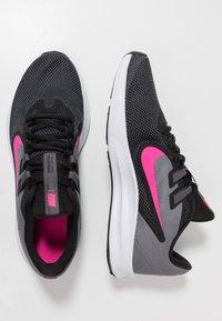 Nike Performance - DOWNSHIFTER  - Zapatillas de running neutras - black/laser fuchsia/dark grey/white - 1