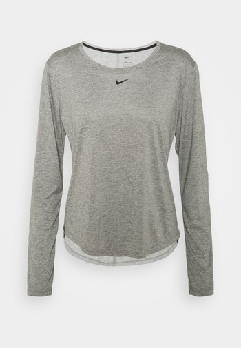 ONE - Long sleeved top - particle grey/heather/black