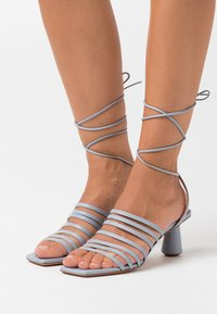 MAX&Co. - ESTRELLA - Sandals - light grey - 0
