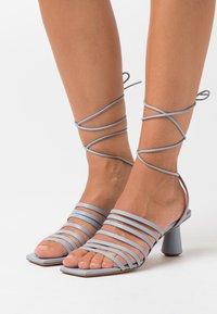 MAX&Co. - ESTRELLA - Sandals - light grey - 0