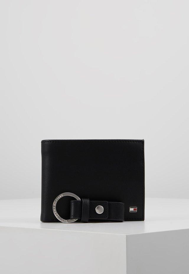 ETON FLAP AND COIN KEY SET - Portachiavi - black