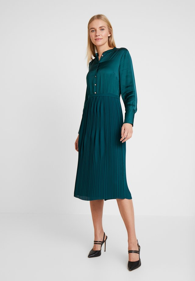 KURZ - Košilové šaty - teal green