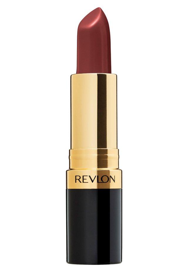 SUPER LUSTROUS MATTE LIPSTICK - Lipstick - N°015 seductive sienna