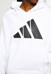 adidas Performance - HOODIE - Jersey con capucha - white - 6
