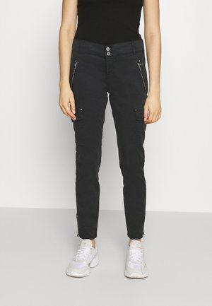 GILLES CARGO PANT - Trousers - black