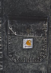 Carhartt WIP - STETSON JACKET PARKLAND - Giacca di jeans - black worn washed - 7