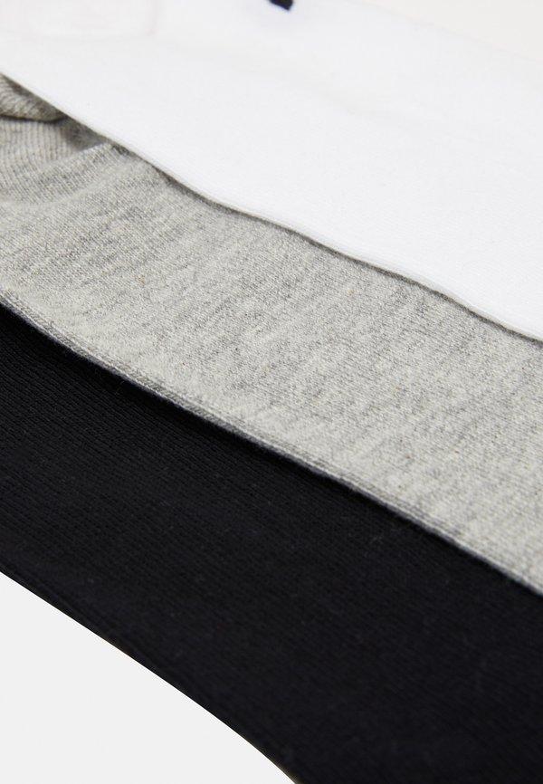adidas Originals 3 PACK - Skarpety - white/black/light grey/biały Odzież Męska DRII