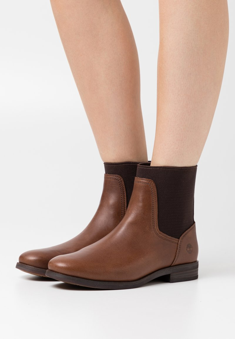 Timberland - SOMERS FALLS CHELSEA - Classic ankle boots - mid brown