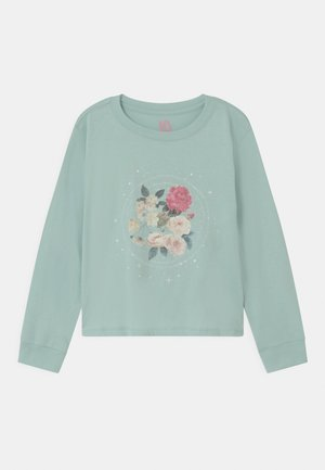 GIRLS CLASSIC - Long sleeved top - green