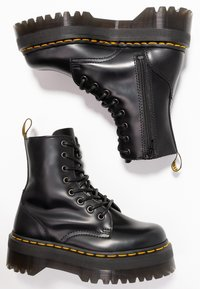 Dr. Martens - JADON ZIP - Bottines à plateau - black - 3