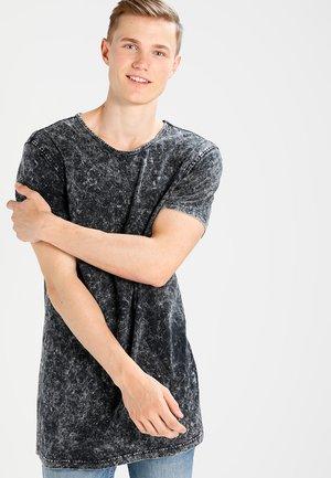 RANDOM WASH OVERSIZE FIT - T-Shirt print - schwarz