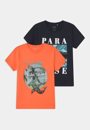 NKMVAGNO 2 PACK - T-shirt print - melon