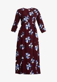 Great Plains London - ROCHELLE FLOWER - Day dress - cabernet combo - 5