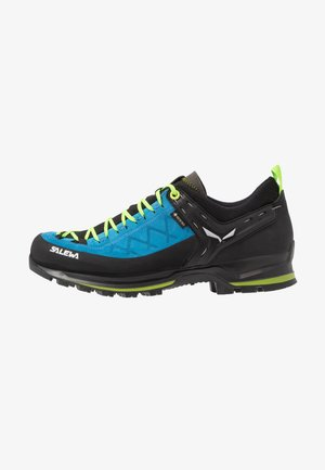 MS MTN TRAINER 2 GTX - Hiking shoes - blue danube/fluo green