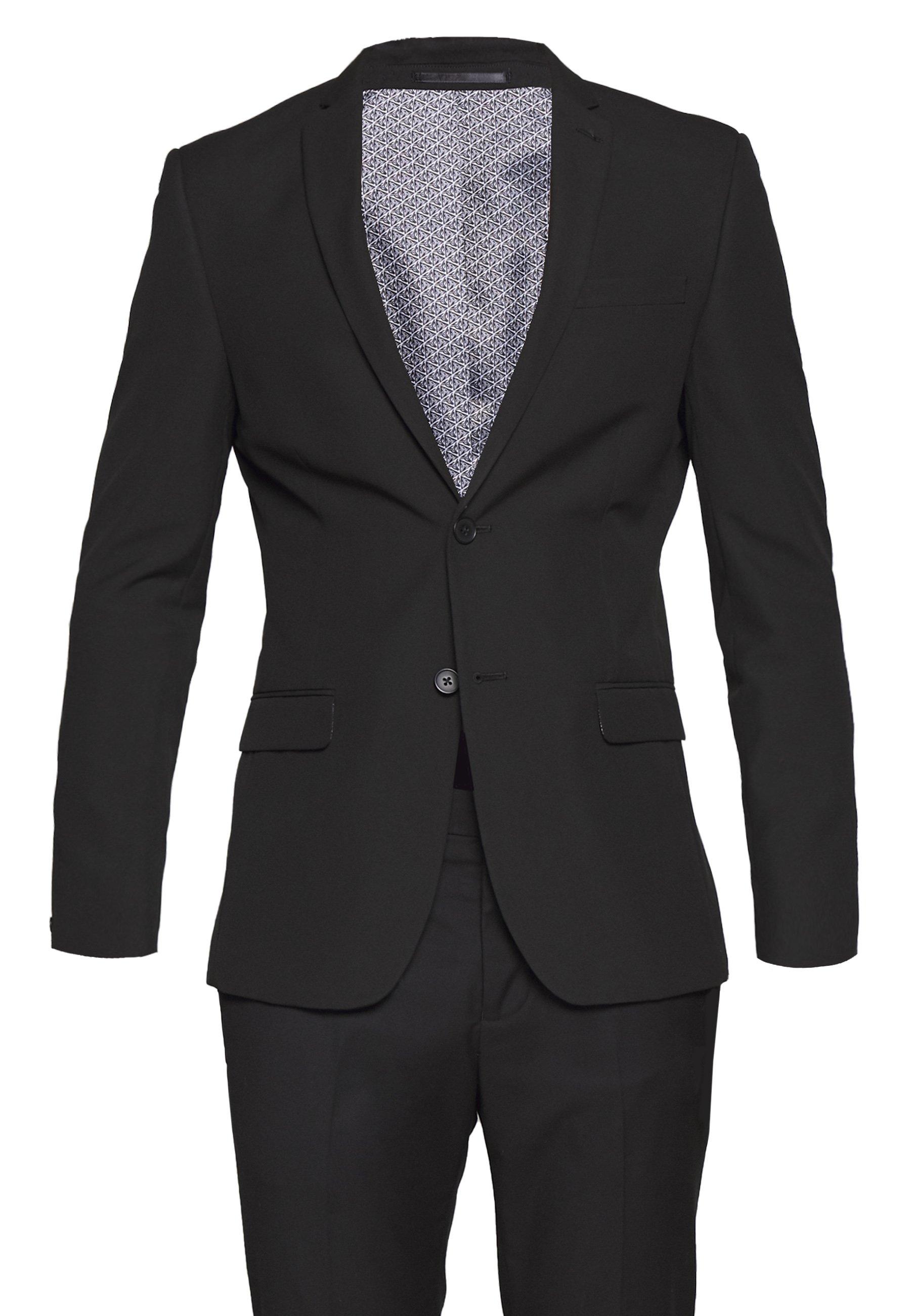 Limehaus SUIT SLIM FIT - Costume - black