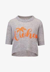 Rosa & Me - ALOHA - Print T-shirt - silver - 5