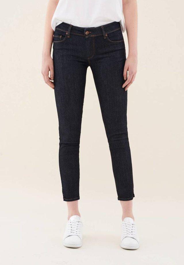 PUSH UP  - Jean slim - dark-blue denim
