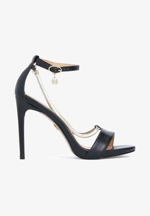 LAZURITE - Sandales à talons hauts - black
