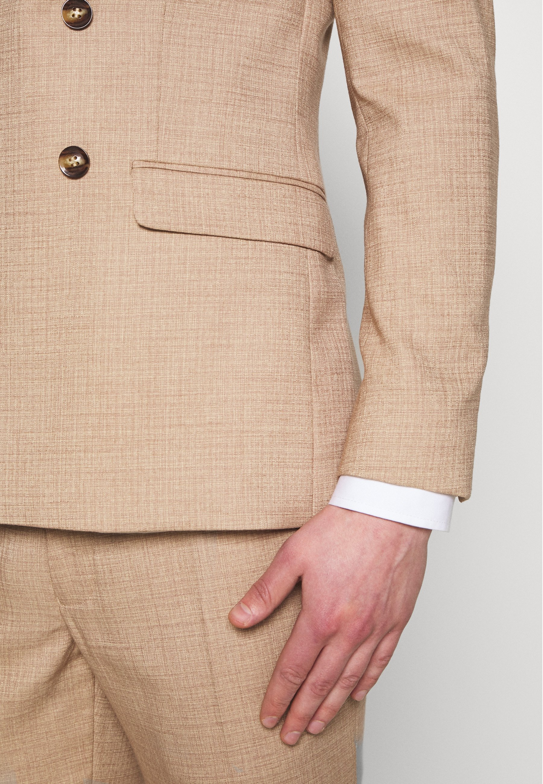 Super Abbigliamento da uomo Topman DAX DENZEL Giacca elegante stone