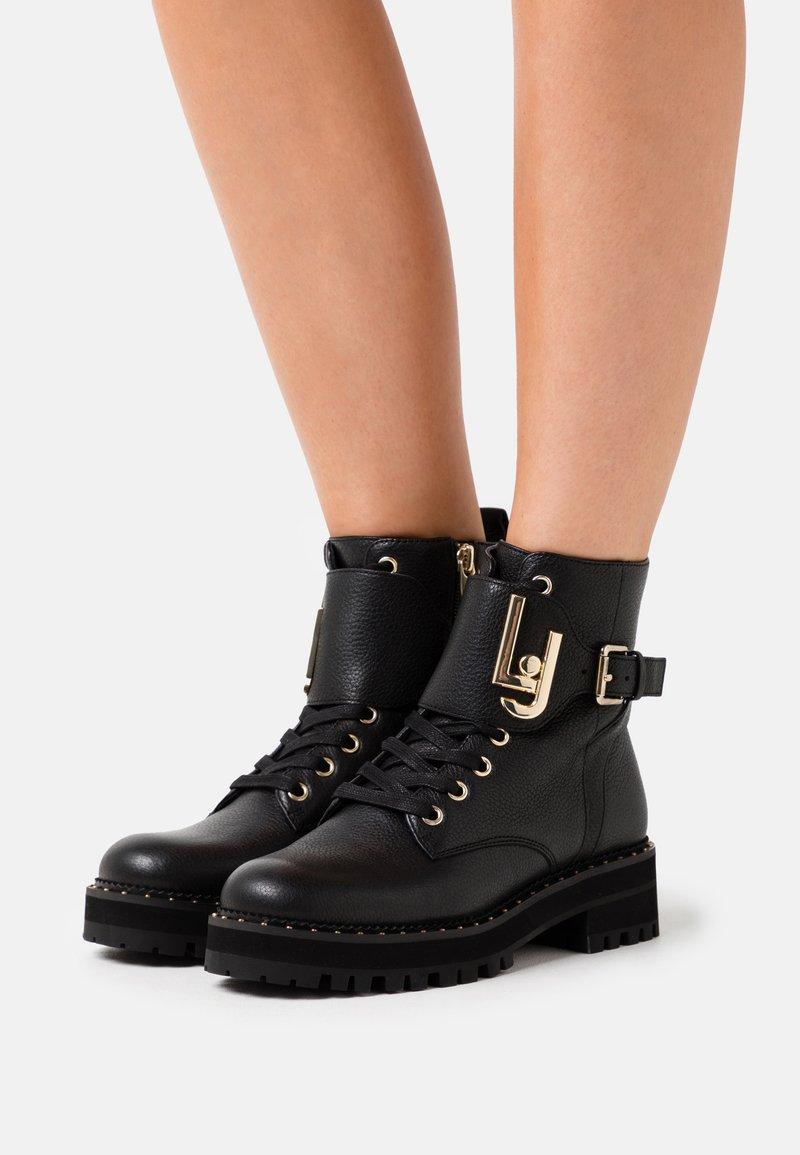 Liu Jo Jeans - Botki na platformie - black