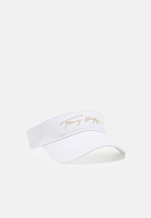 SIGNATURE VISOR - Hat - white