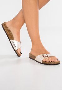 Birkenstock - MADRID - Ciabattine - graceful pearl white - 0