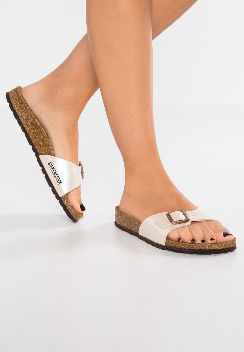 Birkenstock - MADRID - Ciabattine - graceful pearl white
