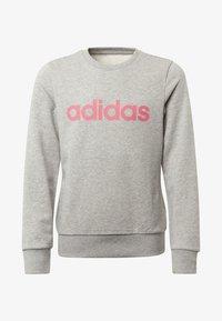 adidas Performance - LINEAR SWEATSHIRT - Sweater - grey - 0