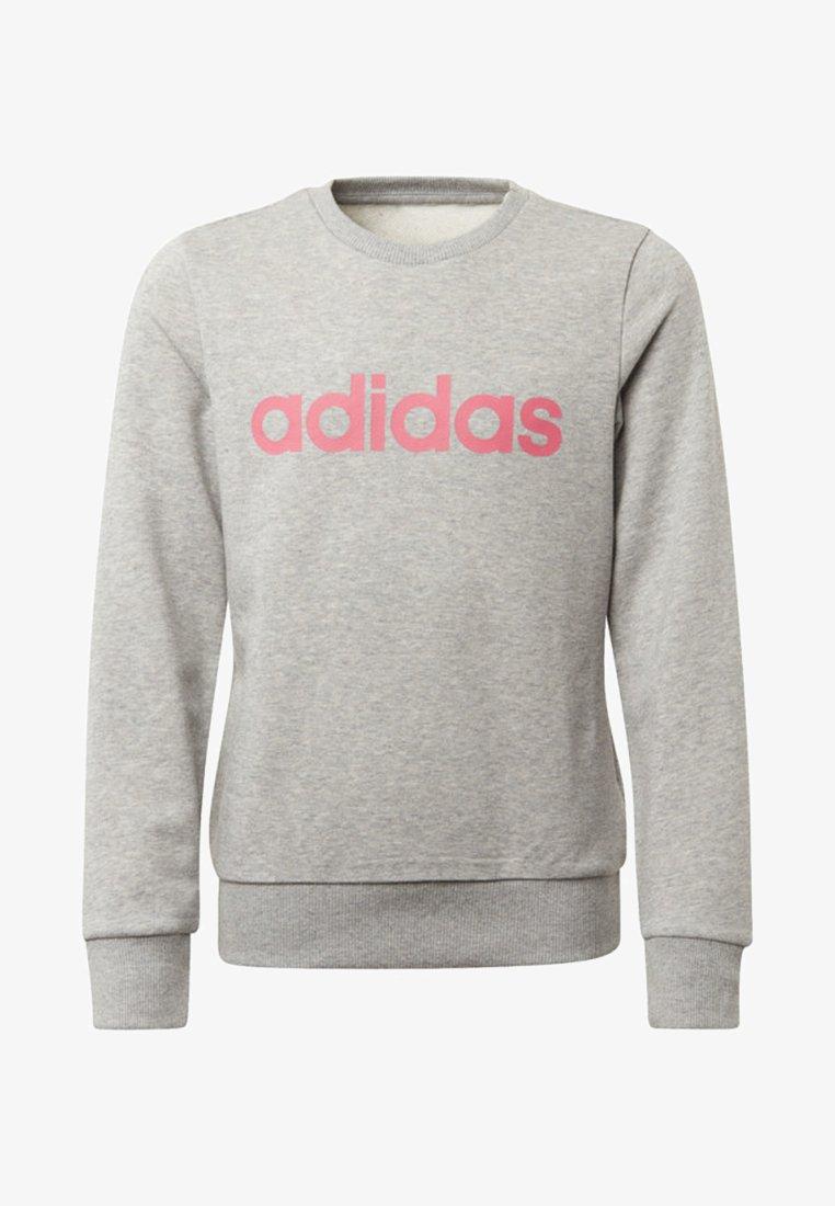 adidas Performance - LINEAR SWEATSHIRT - Sweater - grey