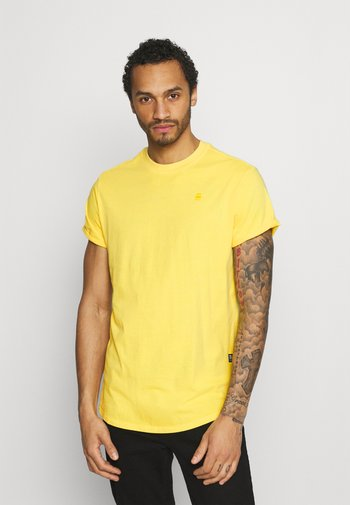 LASH  - T-shirt - bas - yellow