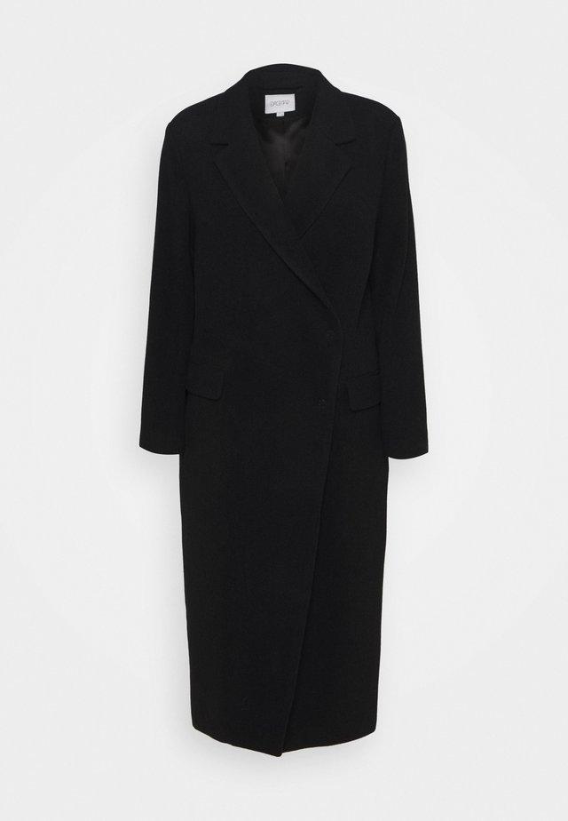 ANISSA LONG - Cappotto classico - black