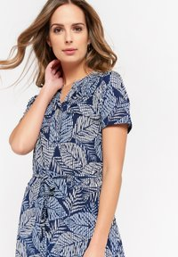 LolaLiza - WITH BOTANICAL PRINT - Maxi dress - navy blue - 3