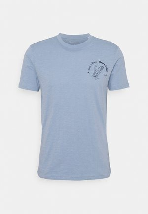 ALDER SLUB TEE - T-shirts med print - total eclipse